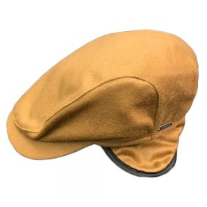 Wigens Ivy Earflap Camel Cap
